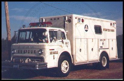 Old Rescue 1, 1972 Ford